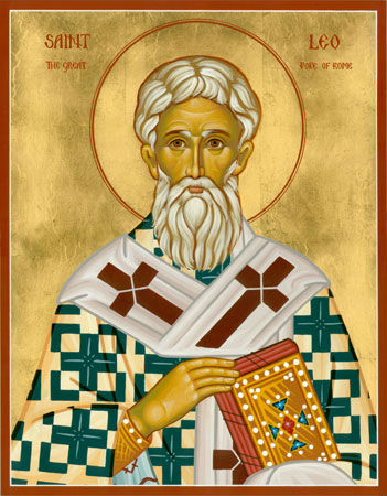 St Leo the Great, Pope of Rome