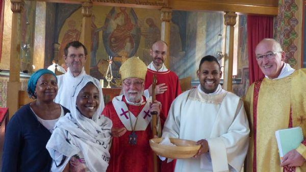 Deacon Cyprians Ordination