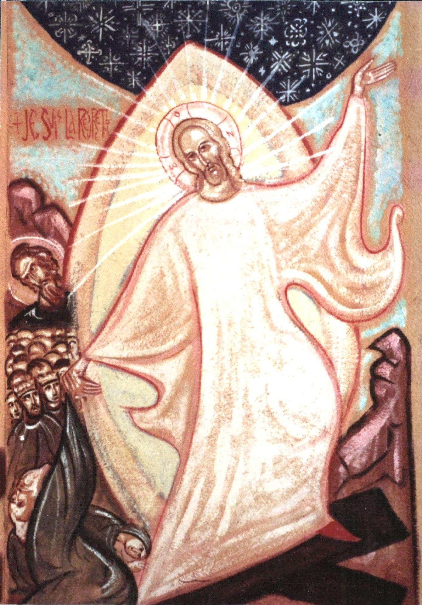 The Resurrection, by the hand of St John of Saint-Denis