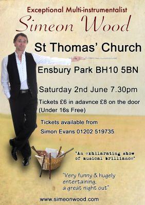 Simeon Wood Concert