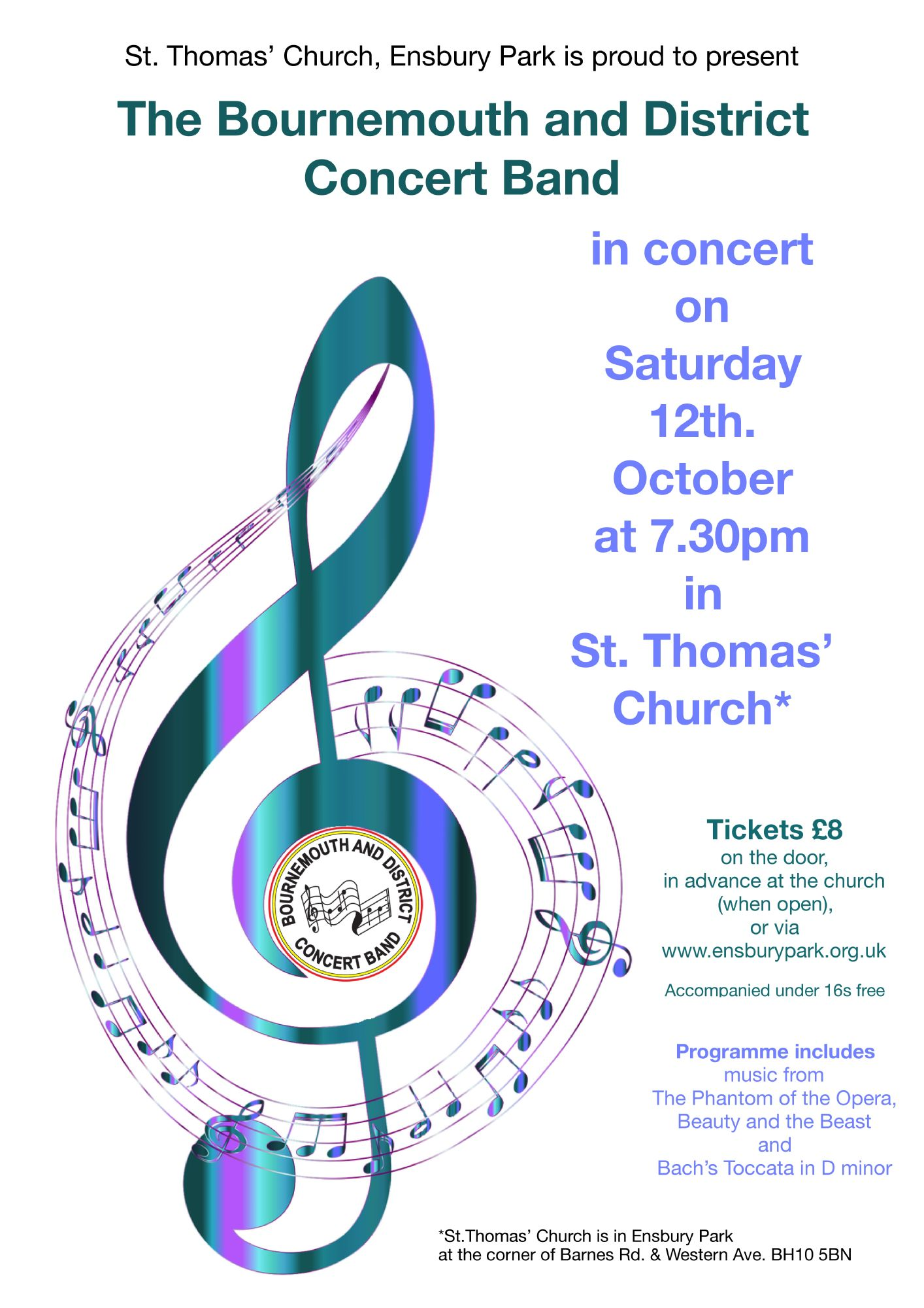 Concert on 12th October