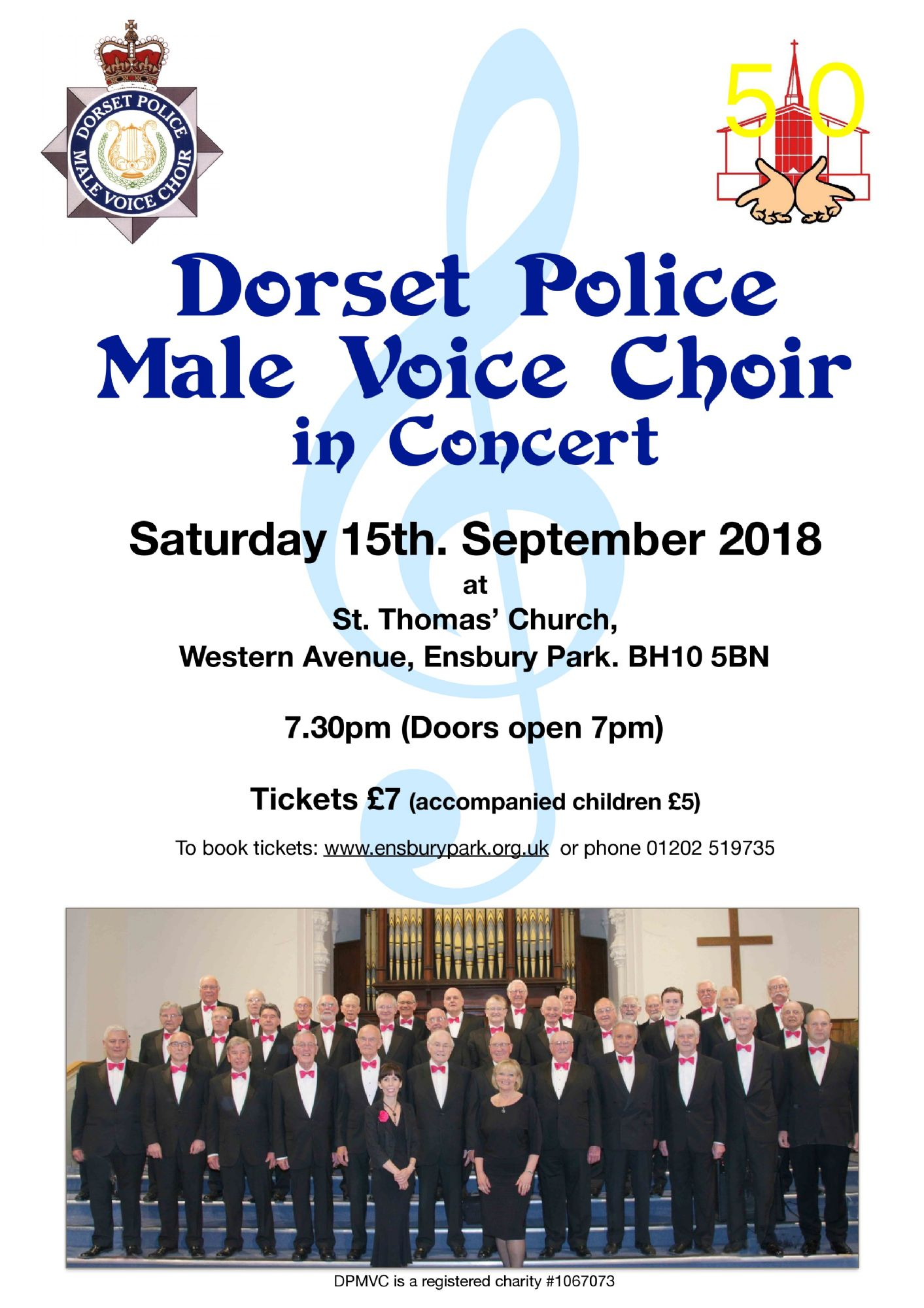 Dorset Police Male Voice Choir Concert