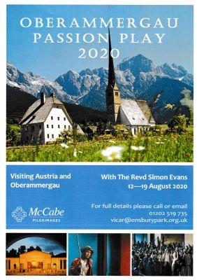 Oberammergau poster