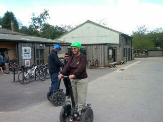 housegroup segway outing