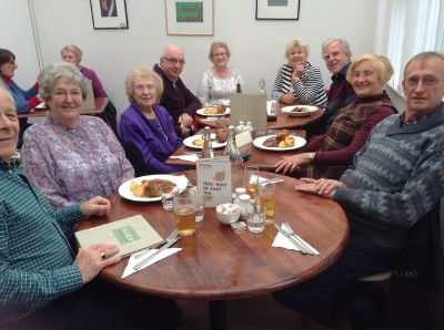 housegroup sunday lunch outing