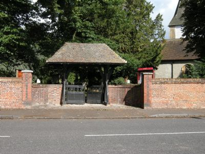 Church Entrance on Church Hill