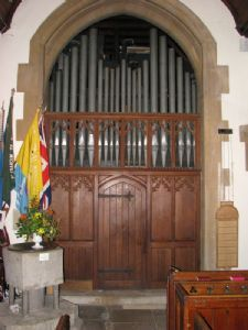 Open Diapason Organ Pipes