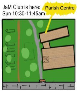 JaM club map