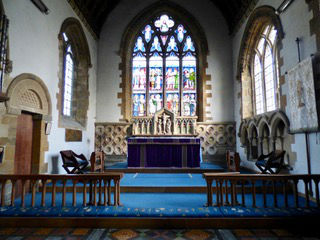 Chancel from rood screen