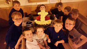 Junior Section with the BB Flower arrangement