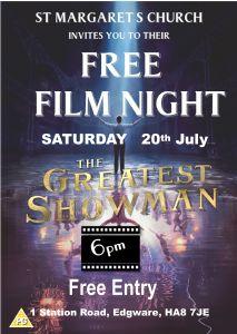 Film Night 6pm July 2019