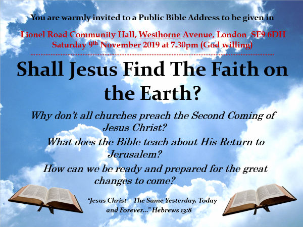 Bible Talk  19