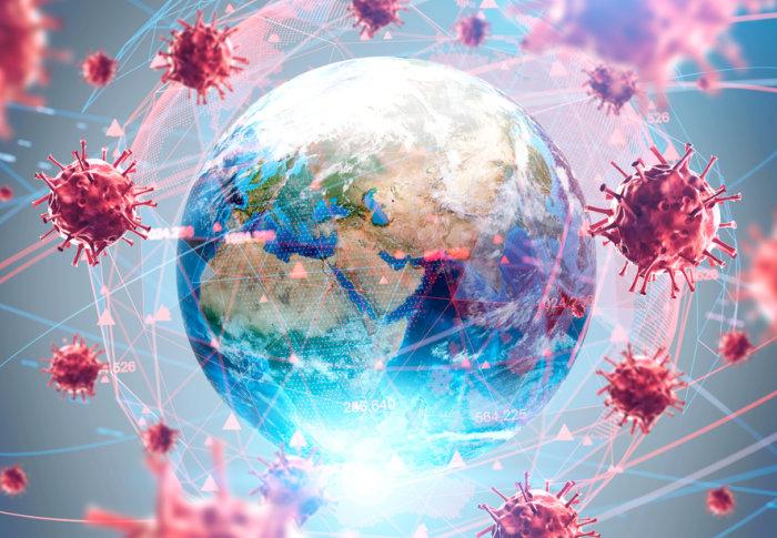 Global pandemic coronavirus