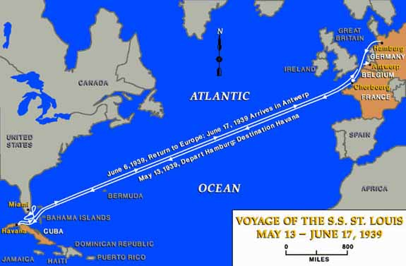 Voyage of SS St Louis