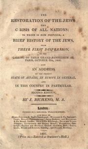 The Restoration of the Jews