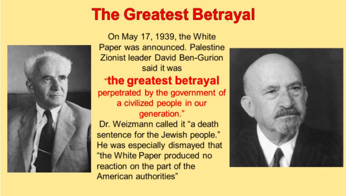 The Greatest Betrayal