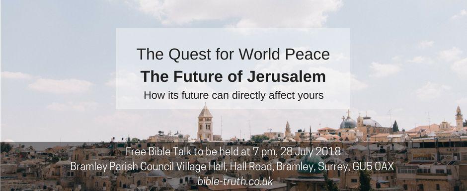 Bible Talk Jul18