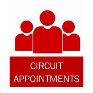 circuit appointments