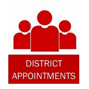 District appointments