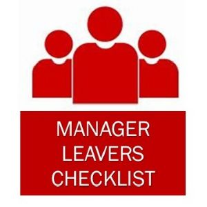 manager checklist
