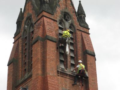 Sparkhill - Abseiling