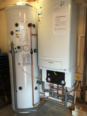 Boiler at St Johns Sparkhill
