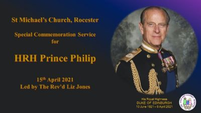 HRH Prince of Wales service