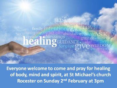 advert healing service