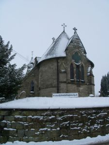 Hollington in the snow