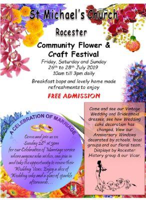 flower festival advert