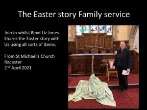 family Easter service