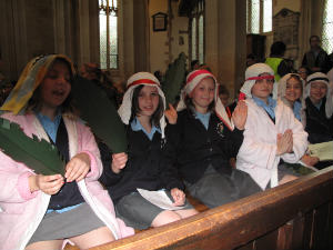 disciples at easter end of term service