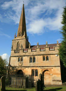 Mickleton church