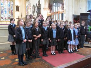 school choir easter end of term