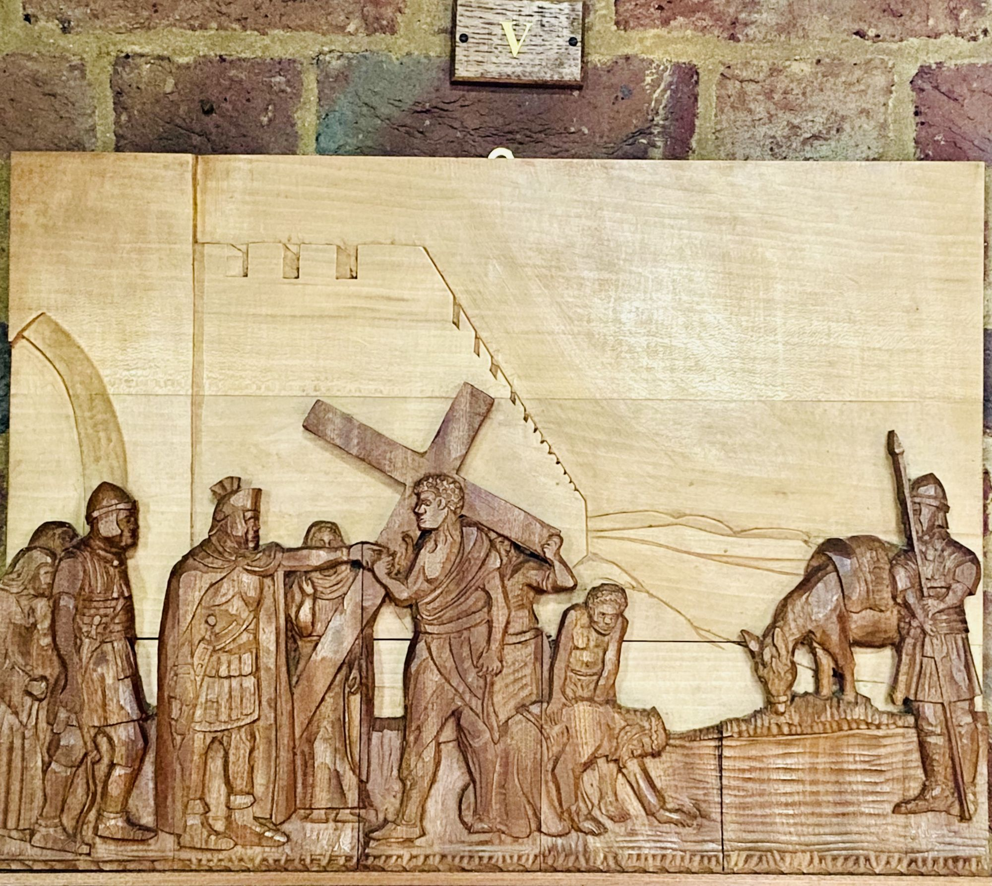 Station of the Cross No 5