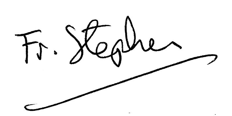 Father Stephens Sig
