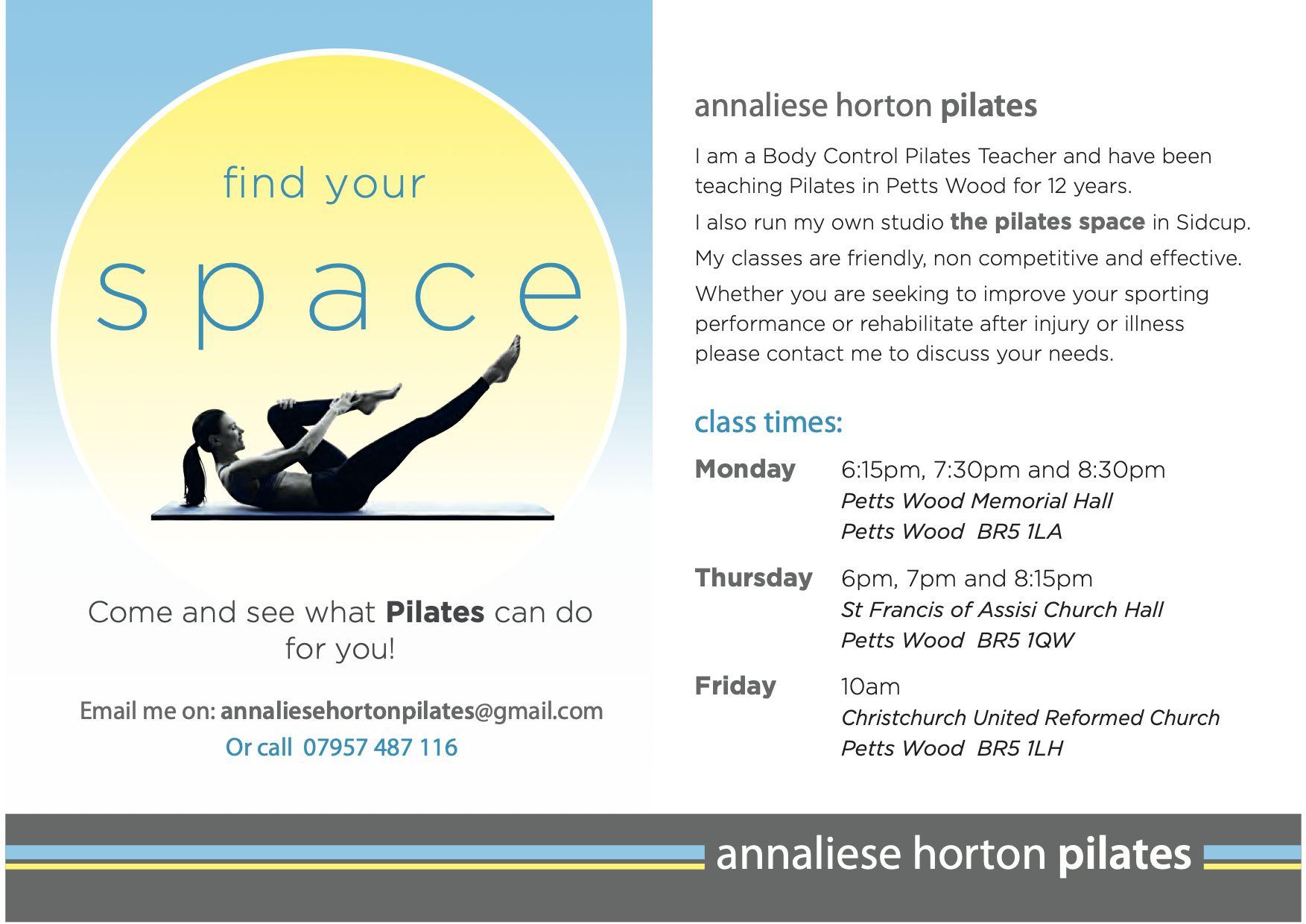 Annaliese Horton Pilates