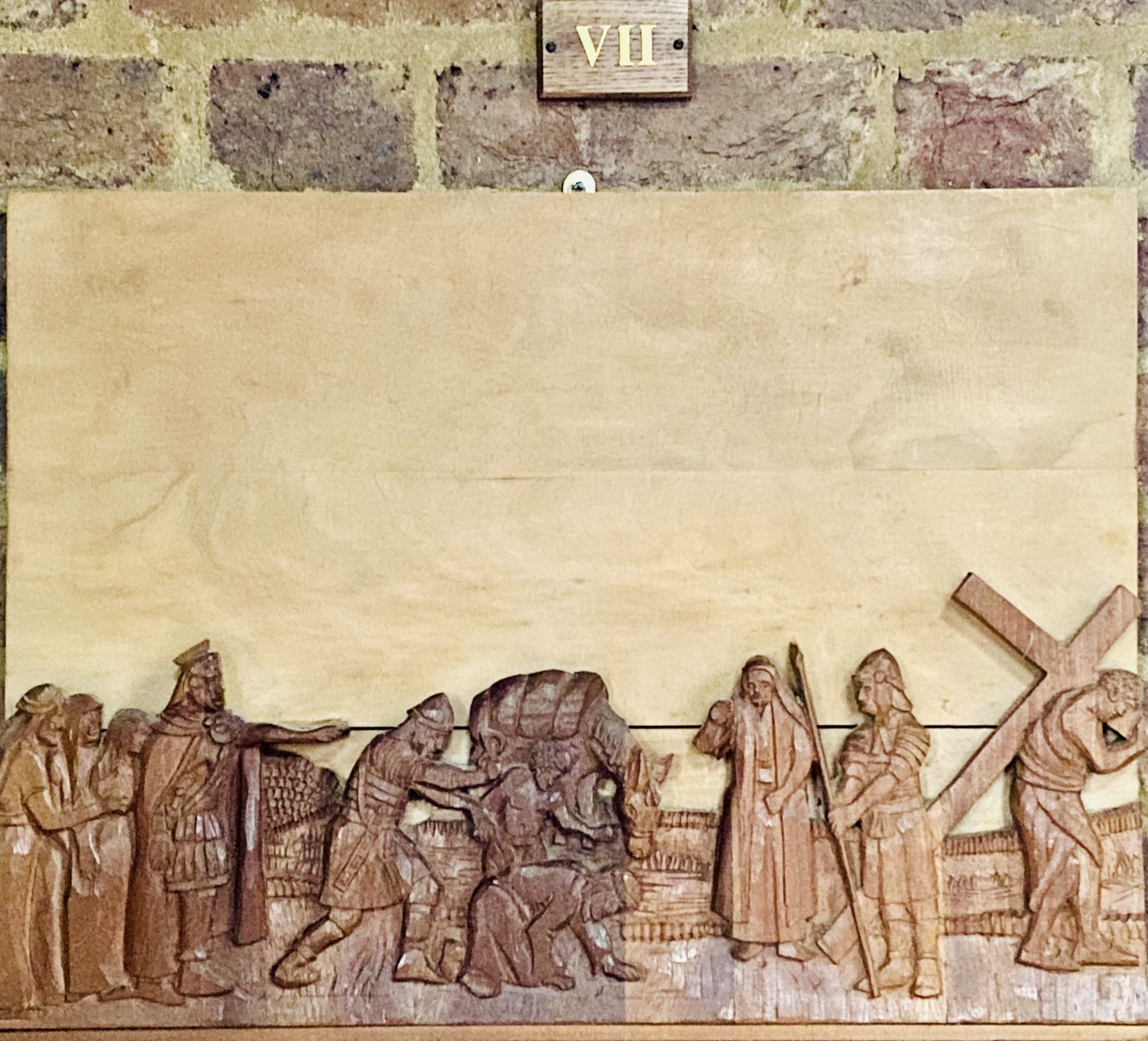 Station of the Cross no 7