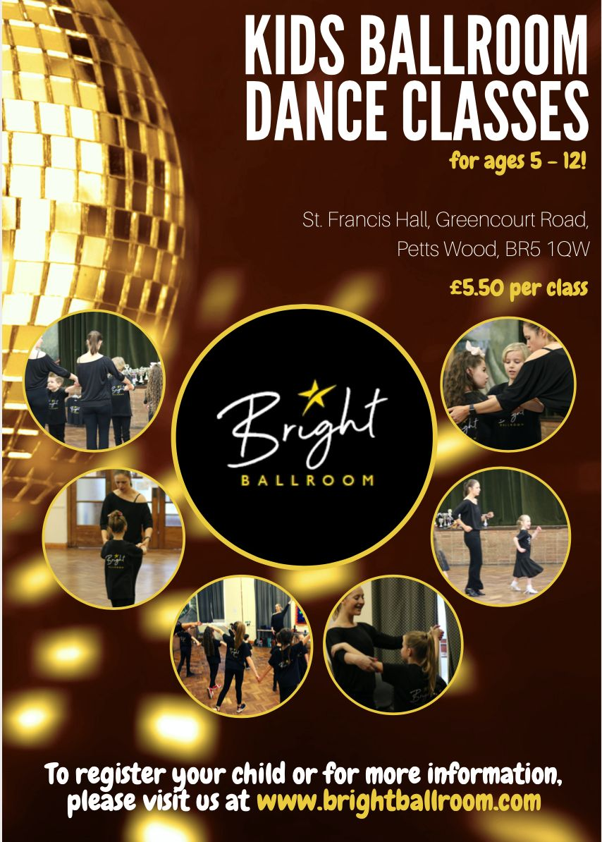Bright Ballroom New Flyer 22nd September