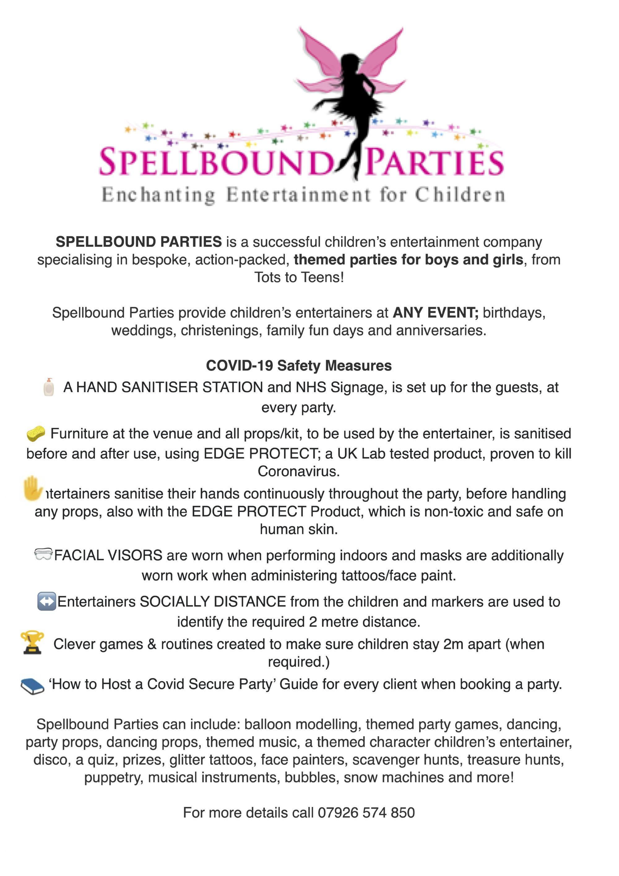 Spellbound Parties
