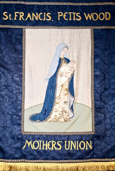St Francis Mother union banner