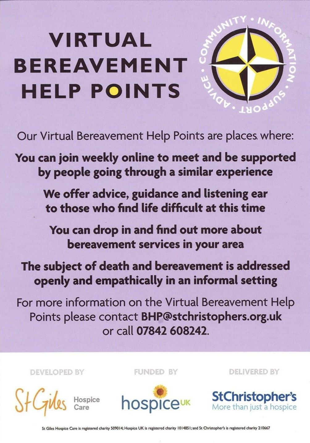 Virtual Help Points