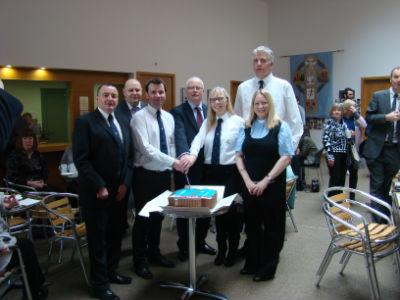 Celebration of 75th BB Cake