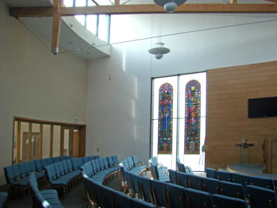 A view to the left of the Pulpit