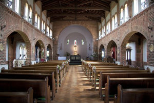 Interior of St Saviour's Totland