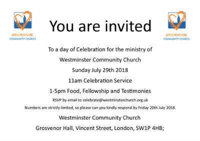 final service invite
