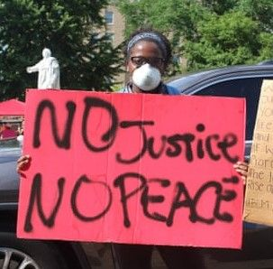 no justice no peace_Bryonne Taylor_Louisville Kentucky_Black Lives Matter