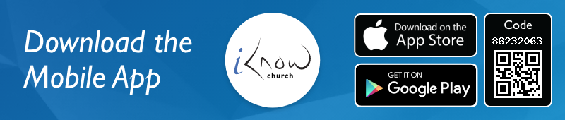 Iknow church app banner