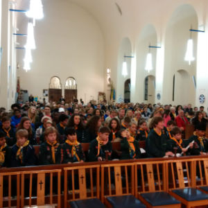 Scouts and Guides Carol Service 1