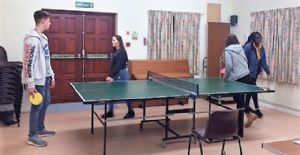 Table Tennis at Passport Youth Club